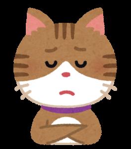 猫 困った