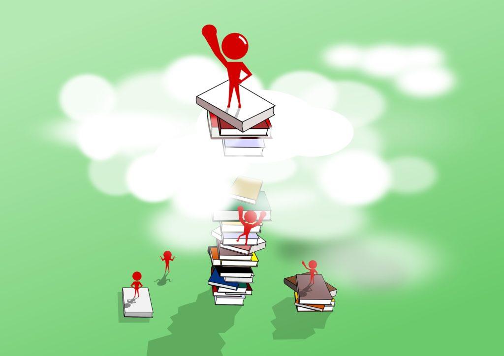 学習のモチベーションをあげるイラスト